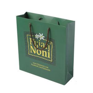 Bolsa de papel personalizado con lámina de oro