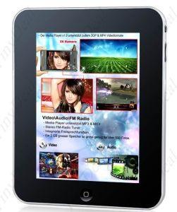 Новые поступления Google Android 8 сенсорный экран WiFi Tablet PC нетбук компьютер UMPC Mid с 128 МБ 2GB HD, серебристая