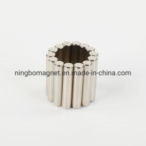 Chapado de níquel del cilindro de neodimio imán para la industria