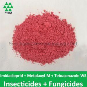 El imidacloprid 20% + metalaxil-m 20% + tebuconazol 2% Ws de fungicidas plaguicidas