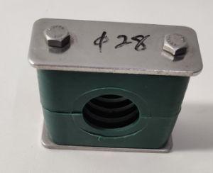 La abrazadera del tubo de baja temperatura personalizado