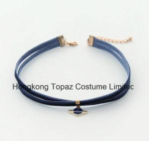 3 couleurs de l'acrylique Bijou collier pendentif cristal Sky Choker cosmique necklace (FR02)