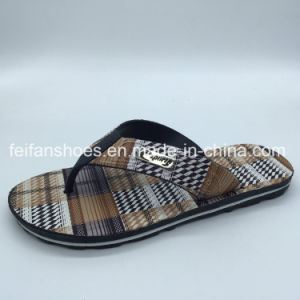 Летом Hotsale мужчин пляж сандалии шлепанцы из ПВХ (FCL Foowear898+7)