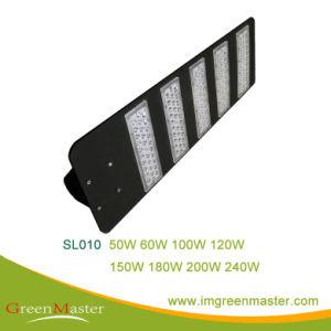 SL010 150W de alta transmitancia Calle luz LED con CE
