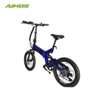 Bicicleta eléctrica plegable 20*2,125 con Li-ion de litio de 36V 350W