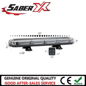 Высшее качество Micro 21 линейных светодиодный индикатор мини-бар для полиции дорожного движения