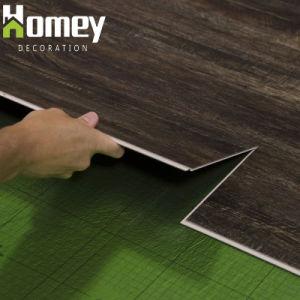 La decoración del piso de PVC de material plástico de vinilo suelos de parqué mosaico