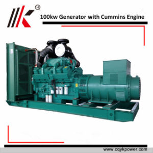 100 квт высшего качества дизельного двигателя Cummins генераторах поставщика 125 ква