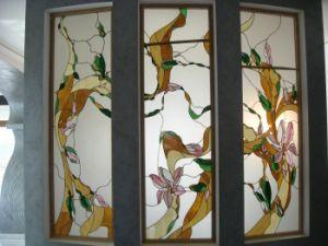 L'art vitraux de Tiffany de bord