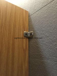 Panneaux en aluminium en bois de nid d'abeilles de Parttern pour la partition de toilette