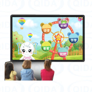55 polegadas LCD Super fina placa inteligente interactivo