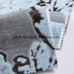 Suave al Tacto hilado teñido de Sofá tela jacquard (Fa09-18)