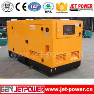 Бесшумный цилиндры 2 типа одна фаза AC 10 ква дизельных генераторных установок, 10 квт электрический генератор