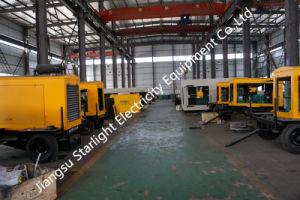 500 квт/625Ква Ccec Электроподогревателя Cummins генераторная установка переносной генераторной установкой прицепа