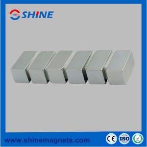 Magnete permanente del neodimio placcato zinco del blocchetto della terra rara