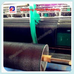 Macchina per maglieria piana per la fabbricazione netta del sacchetto e dello schermo della maglia