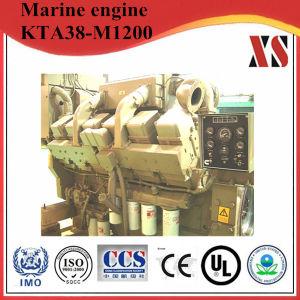 (1200HP/895HP) Kta38-M1200 Ccec Cumminsの海洋のボートの船の推進力のディーゼル機関