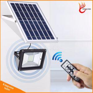Для использования вне помещений на улице солнечной энергии солнечного освещения прожектора с пультом дистанционного управления