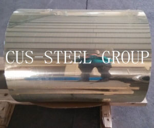 Bobina di alluminio luminosa dorata di rivestimento del/specchio di alluminio per la lettera della Manica