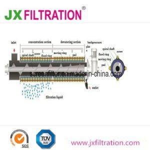 Pjdl402産業下水のためのMulti-Diskねじ沈積物の脱水機