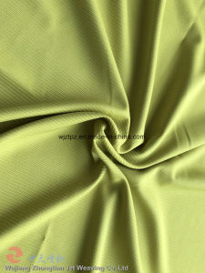 Poliéster Jacquard Listrado Spandex tecido stretch para roupa