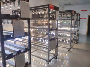 Plaza Non-Flickering Panel LED Luz con controlador IC