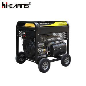 Het luchtgekoelde Draagbare Model van de Diesel Reeks van de Generator (DG12000E)