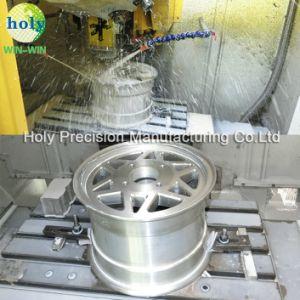 Aluminium CNC, der mit maschinell bearbeitenAutoteil-Zubehör-Ersatzteilen maschinell bearbeitet