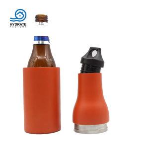 Nuevo diseño de doble pared de acero inoxidable las botellas de cerveza de vacío