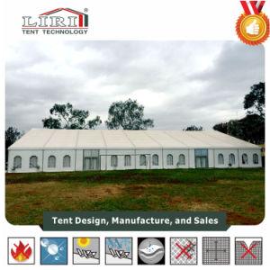 天井が付いている1000人の結婚式の玄関ひさしのテント25X50mおよびナイジェリアのはさみ金