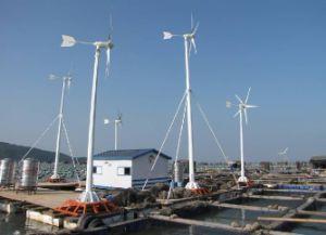 低い風速領域のための風力の発電機300W