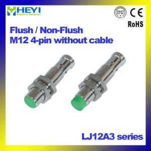 Der Luft-M12 Serie Bolzen-Metallinduktive des Annäherungssensor-Lj12A3 ohne Kabel NPN/PNP/Gleichstrom /AC