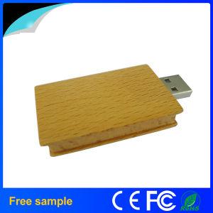 カスタマイズされたロゴ8GBの木の本の形USB駆動機構