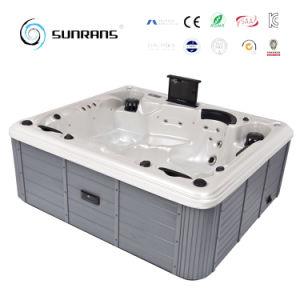Piccola vasca da bagno acrilica indipendente di vendita calda, piccola vasca di bagno