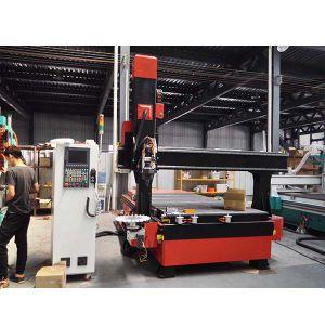 5つの軸線の木製の働く家具CNCの彫版機械