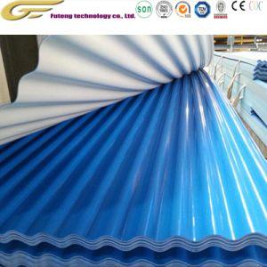 Machine de fabrication de matériel en métal galvanisé prélaqué panneau de toiture bobines en acier