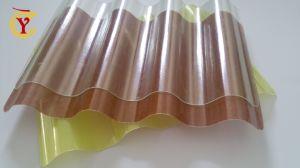 El FRP de fibra de vidrio Ondulado Panel de techo plano