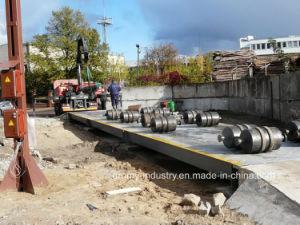 100トンは橋トラックのスケールの重量を量る