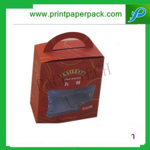Gama alta a medida Software Cardborad rígido Embalaje Caja de papel Asa Caja maleta