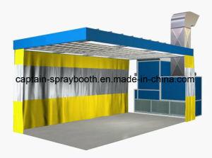 Aluguer de cabine de spray com a preparação da estação / Estação Prep / área de preparação