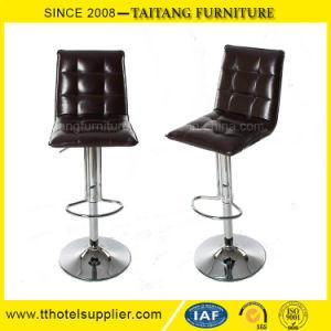 高く調節可能なPU革棒椅子