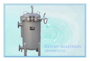 Filtre à sac pour le traitement des eaux industrielles