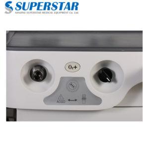 Prezzo umano portatile della macchina di anestesia di S6100X con un ventilatore