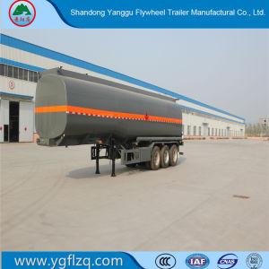 車軸3/4の燃料かディーゼルまたはオイルまたはガソリンまたは販売のための半ユーティリティタンカーまたはタンクトラックのトラクターのトレーラー