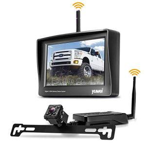 Mini het Omkeren van de Mening van de auto AchterCamera met Draadloze Zender en 4.3  HOOFDMonitor