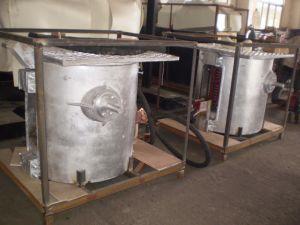 250 kg petit four à induction électrique en aluminium pour la fusion de l'acier