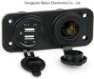 Marine prise USB et prise d'alimentation allume-cigare DC 12V
