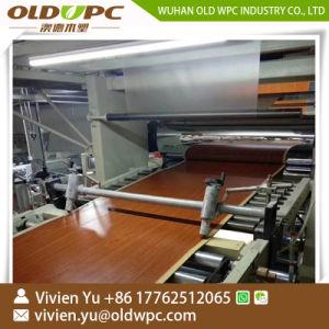 PVC積層のフロアーリングの生産ラインSpcのフロアーリング機械