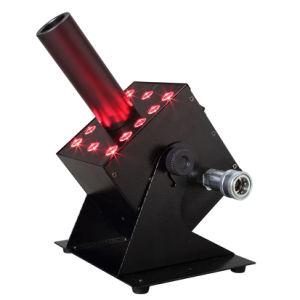 Los nuevos 12*3W de colores RGB LED de CO2 MÁQUINA DE NIEBLA Speical Jet etapa efectos