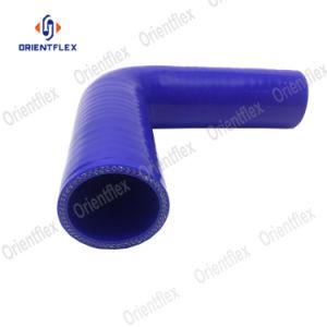 1/4 do acoplamento de cotovelo de 90 graus de 6,5mm de borracha de silicone de 4 camadas